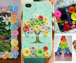 😍🌺🎀Hermosas decoraciones y manualidades con botones!!😍🌺🎀 tutorial paso a paso