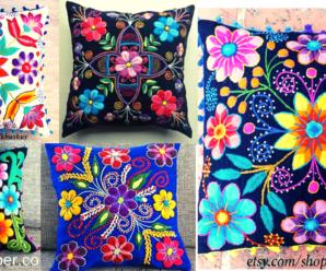😍🌺🎀Aprende hacer hermosos bordados de cojines😍🌺🎀 tutorial paso a paso
