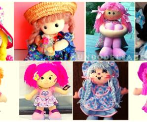 😍🌺🎀Aprende hacer hermosas muñecas de trapo😍🌺🎀 tutorial paso a paso