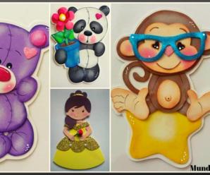 😍🌺🎀Aprende hacer hermosas figuras decorativas en foamy😍🌺🎀 tutorial paso a paso