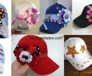 Aprende hacer hermosas decoraciones de gorras/tutorial paso a paso