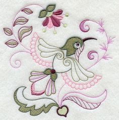 Aprende a bordar hermosas aves
