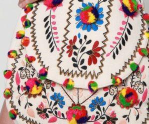 Aprende hacer preciosos bolsos bordados a mano
