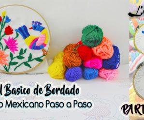 Aprende a bordar estilo mexicano
