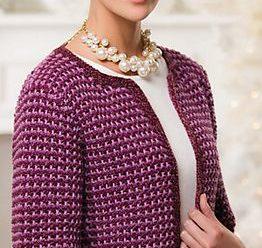 Aprende a tejer hermosos cardigan a crochet