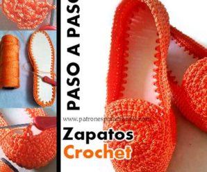 Aprende a tejer bellisimos zapatos a crochet