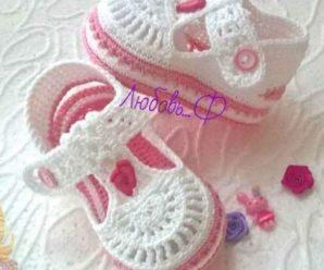 Aprende a tejer preciosos zapatitos a crochet