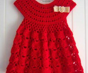 Aprende a tejer hermosos vestidos a crochet
